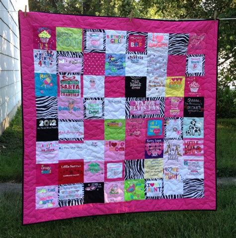 Quilts Made From Baby Clothes by Baby Clothes Quilt Deposit Only For The