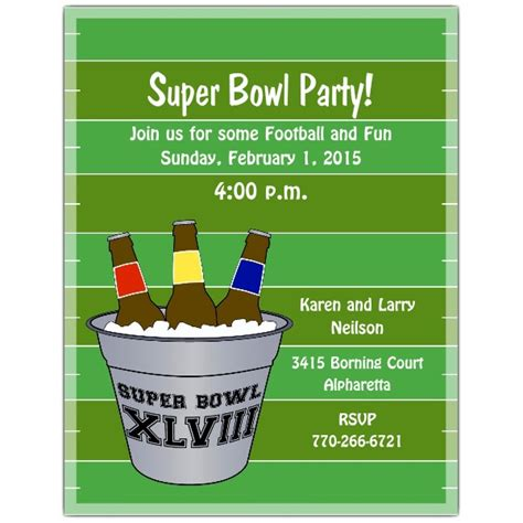 bowl invitation template bowl 2014 invitation template