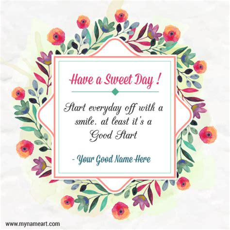 sweet day images a sweet day with quotes for fb wishes greeting card