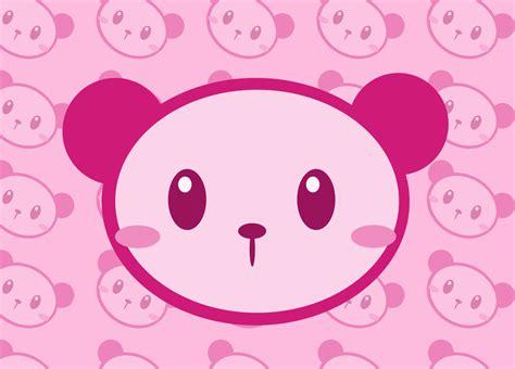 Panda Pink by Pink Panda Wallpaper Wallpapersafari