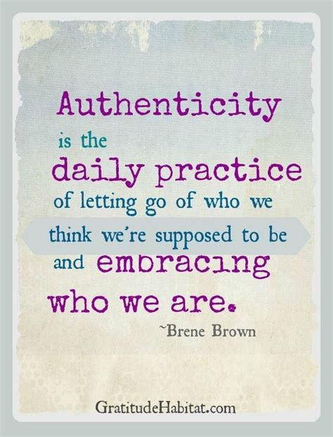 brene brown authenticity quotes quotesgram