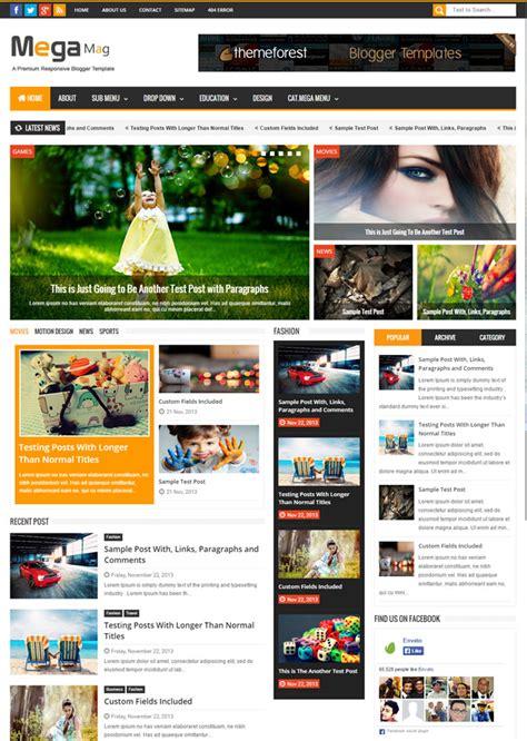 magazine responsive layout 40 best responsive blogger themes 2015 designmaz