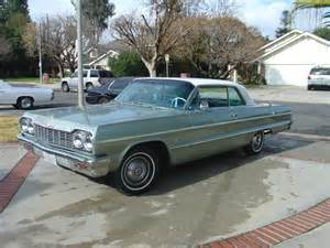 1964 chevy impala coupe laurel green 1962 1963 1965 1966