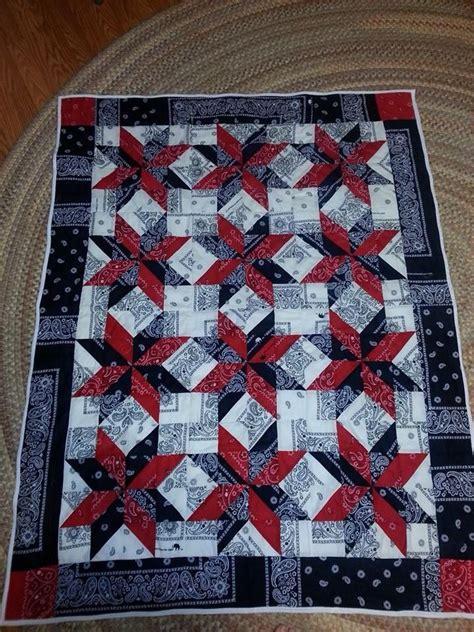 Bandana Quilt Patterns by 59 Best Bandana Quilts Images On Bandana Quilt