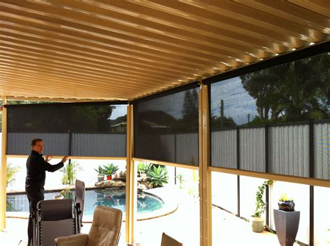 Creative Blinds Awnings Side Channel Spring Fabric