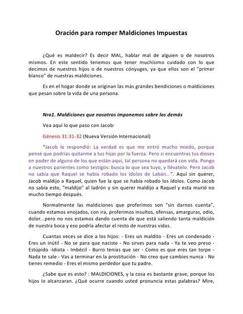 romper cadenas generacionales oraci 243 n para romper maldiciones impuestas