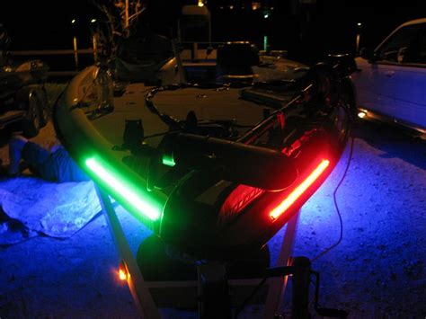 boat marker lights boat lights a triton with red and green marker lights for