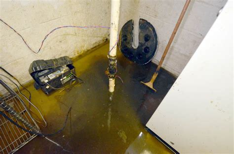 water backup in basement water powered back up sump review the hazlet news