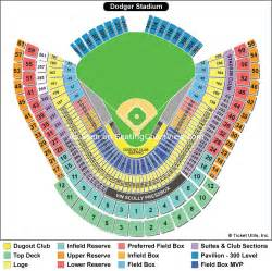 stadium seat map dodger stadium los angeles ca seating chart view