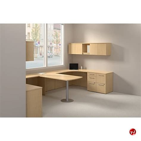 the office leader bush realize 2 person desk workstation