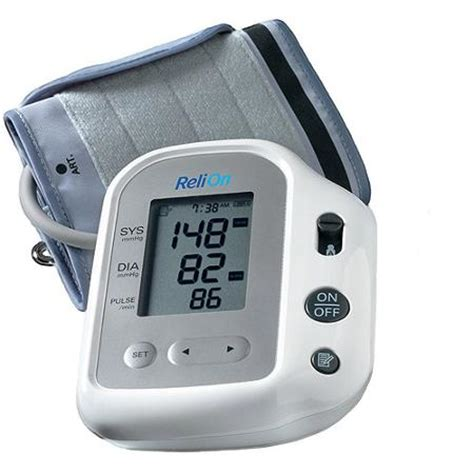 Monitor Relion relion bp200 auto inflate deluxe digital blood pressure