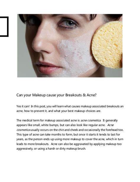 Can Detoxing Your Make Your Skin Breakout does makeup cause acne fay