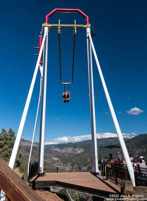 giant canyon swing glenwood caverns adventure park
