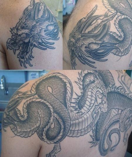 john wayne tattoo by ken karnage tattoonow tattoos japanese dragon 88931