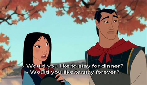 romantic disney film quotes the rewatch 1 critical analysis of mulan once upon a time