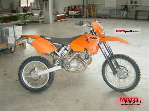 2003 Ktm 450 Exc Ktm 450 Exc Racing 2003 Specs And Photos