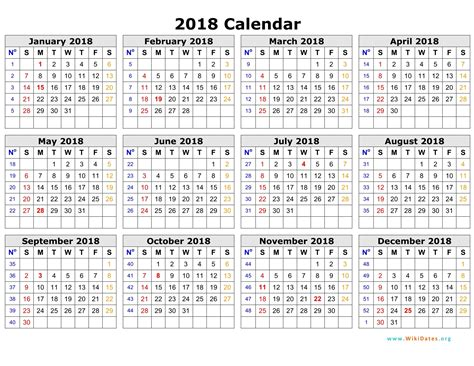 2018 19 School Calendar Template Word