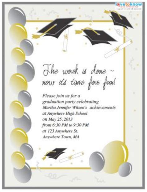 printable templates for graduation invitations free printable graduation invitation templates gangcraft net