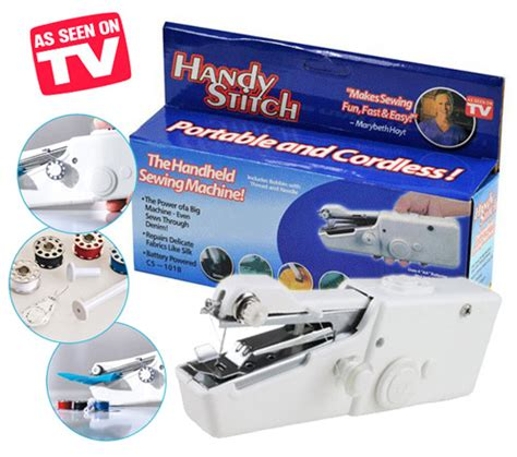 Handy Stitch Portable Handheld Sewing Machine Mesin Jahit L88c handy stitch portable handheld sewing machine white jakartanotebook