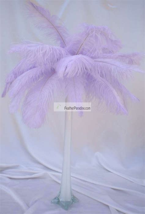 ostrich feather l shade feather plume palm tree lavender ostrich feather