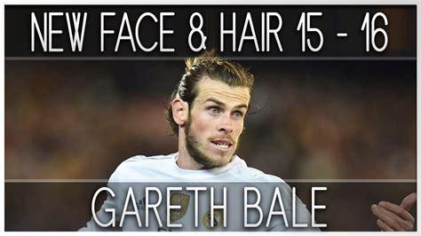 why is gareth bale growing his hair pes 2013 new face hair gareth bale 2015 2016