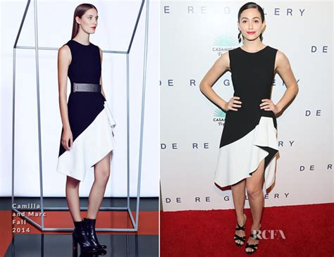 Catwalk To Carpet Emmy Rossum by Emmy Rossum In Camilla And Marc The Brian Bowen Smith