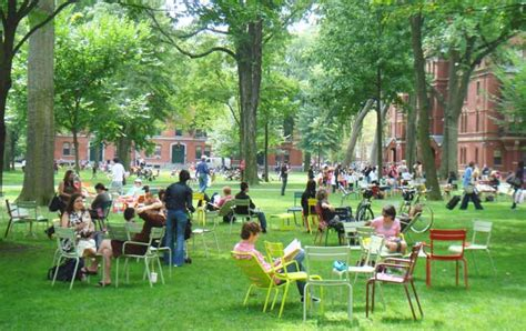 harvard yard  landscape architects guide  boston