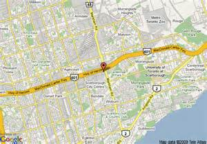 map of scarborough ontario canada map of best western executive inn scarborough