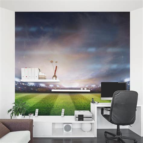 stadium lights wall mural