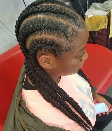 straight  cornrows hair styles braided cornrow