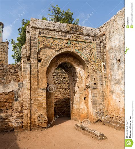 Roman Ruins At Chellah Morocco Stock Photo   Image: 35212110