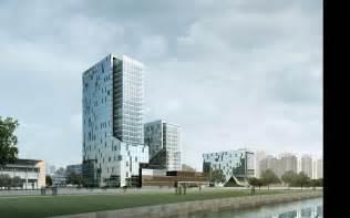 modern city modern city skyscraper 3d model max cgtrader com