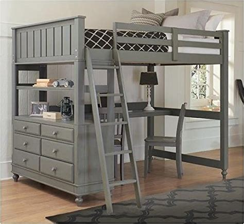 full size bunk bed with desk 10 best loft beds with desk designs decoholic