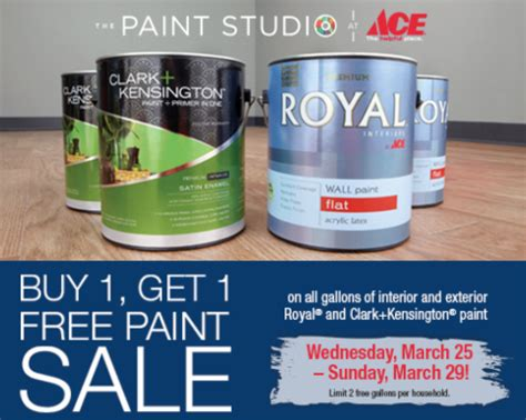 home depot paint sale june 2015 paint sale at ace hardware 5 50 coupon from home