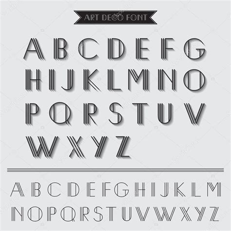imagenes de letras vintage art dec 243 tipo de letra tipograf 237 a vintage en vector