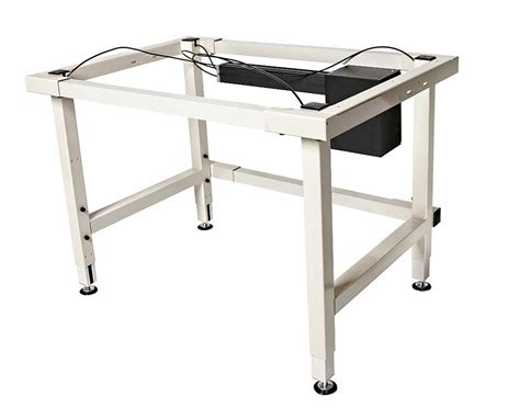 electric height adjustable table 4 leg electric adjustable height work table