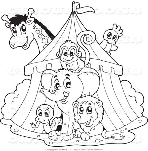 printable coloring pages of circus animals printable coloring pages of circus animals cooloring com
