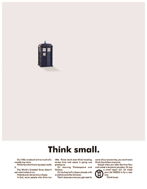 Think Small Volkswagen by Will And Grace Babaimage