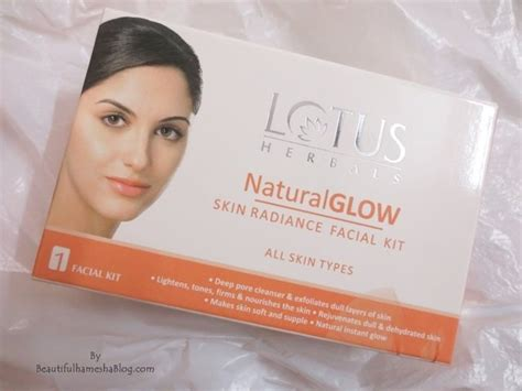 Bb Glow Kit lotus herbals glow skin radiance kit review