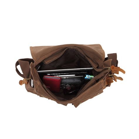 Tas Jinjing Canvas Tas Slempang Handbags Tas Laptop Tas Kuliah augur tas selempang canvas messenger bag black