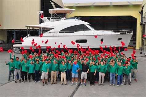 fort lauderdale boat show accommodation belize motoryachts launch of hull number 10