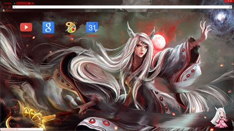 google chrome themes naruto kyuubi kaguya ootsutsuki theme google chrome by sujayshinoda on