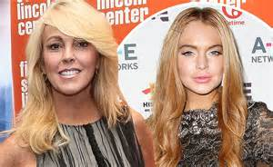 Dina Lohan Own Tv Show Ahead Of Daughters Stint In Rehab by Dina Lohan Attends The Premiere Of S The