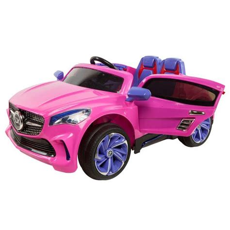 pink mercedes truck mercedes benz cla style ride on car kids electric cars