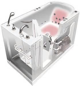 Water Faucet Handles Walk In Tub Diagram Bathaid Walk In Tubs Amp Showers