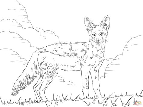 african wild dog free coloring pages