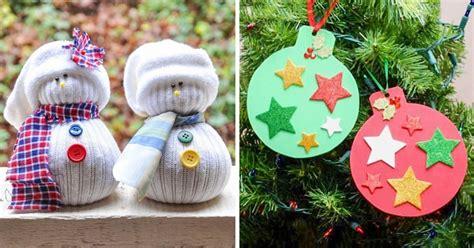 imagenes navideñas sencillas 15 manualidades navide 241 as f 225 ciles de hacer