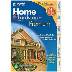 home design premium punch home landscape design premium 17 traditional disc by