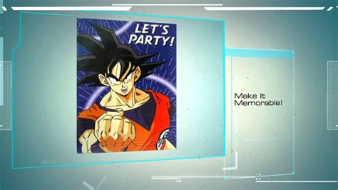 line theme android dragon ball dragon ball z birthday party supplies find the full line