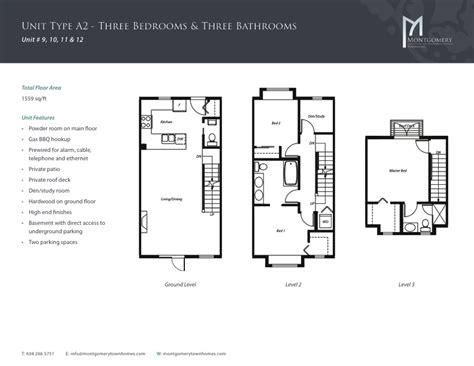 montgomery homes floor plans montgomery townhomes price features floor plans